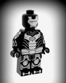 Ironman (Iron Man Satellite) - Custom Designed Minifigure